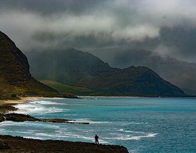 Mountainous Fishing Photography