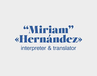 Miriam Hernánez