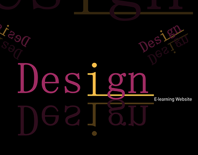 Design E-Learning Website