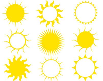 Summer Sun Graphics