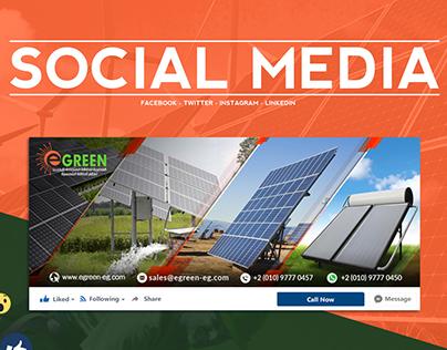 Egreen - Social Media