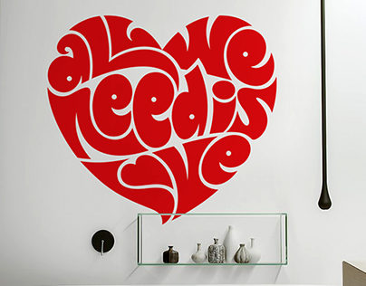 Valentine's Day Wall Decals