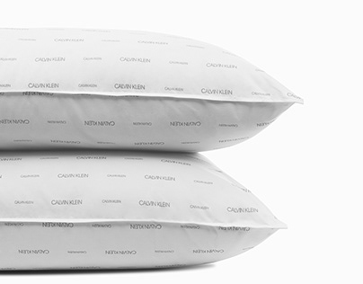Calvin Klein Logo Pillows