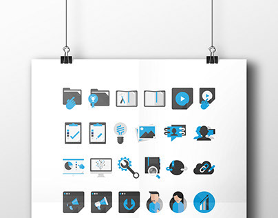 GetSmarter Virtual Learning Environment iconography