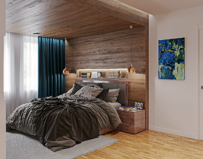 Visualization of the bedroom.