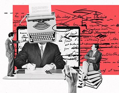 ZNAK | set of editorial illustrations