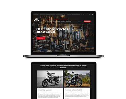Olli Motorcycles e-shop