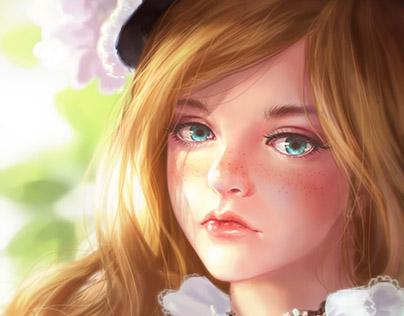 Lil princess - study