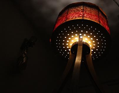Tripod Floor Lamp - Digital Technology (Flugor TRIO)