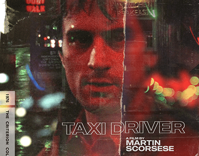 Taxi Driver posters as Criterion Collection editions.