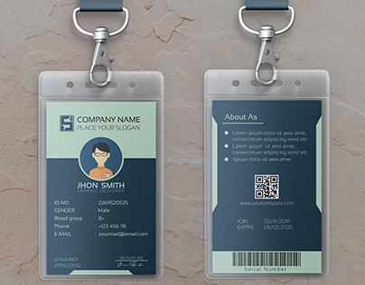 Corporate ID Card Design.