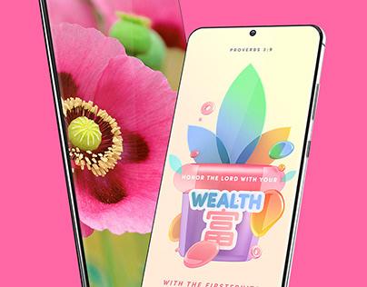 Samsung Galaxy S20 Device Mockup