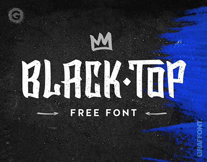 BlackTop | Free Font