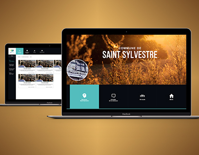 Ville de Saint Sylvestre - Redesign responsive