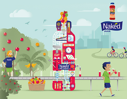 Naked Smoothie - Advert Concept