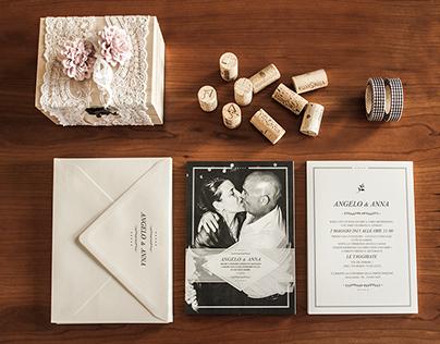 ANGELO & ANNA - WEDDING INVITATION