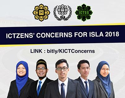 ICTzens' Concerns Poster