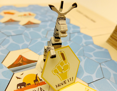 We like to move it! - boardgame design