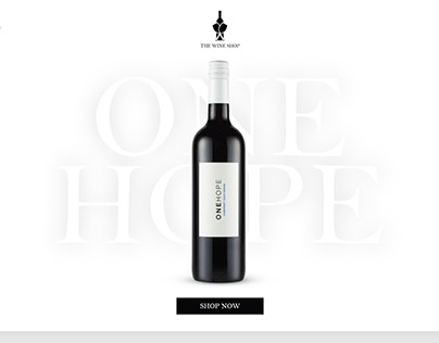 The Wine Shop : Web Design