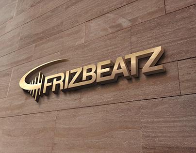 FrizBeatz Logo Mockup