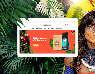 """AMAZONIA"" Online Store of goods manufactured in Peru"