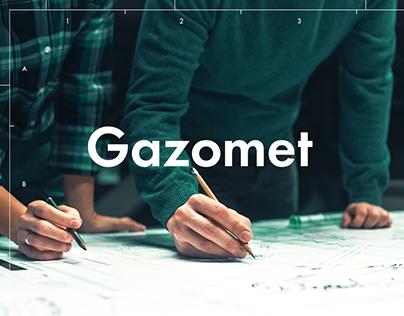 rebranding for Gazomet