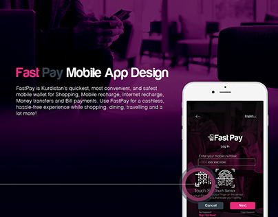 FastPay Mobile App & Brand Identity