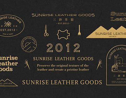 Sunrise leather goods - Branding design