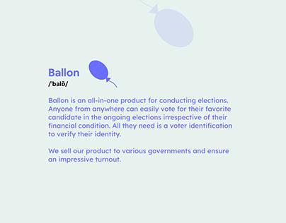 Ballon - Elections revamped.