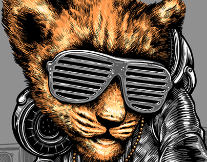 "Shirt Design: The ""Cub"" DJ"