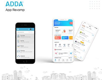 ADDA App - Revamp