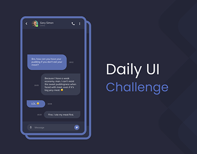 Daily UI - Design Challenges