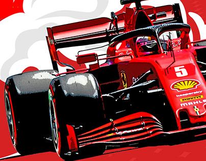 Scuderia Ferrari Mugello Tribute Fan Art