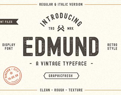The Edmund – 6 Font Files