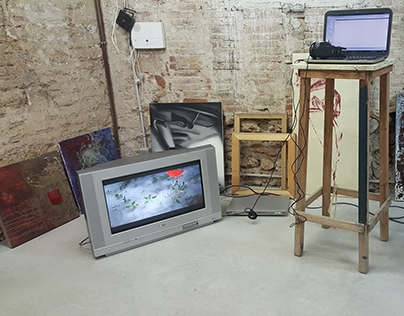 Video installation, Open Studio Can Serrat Residency