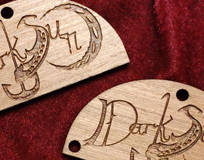 Logo and Keychain Design: Dark Sun