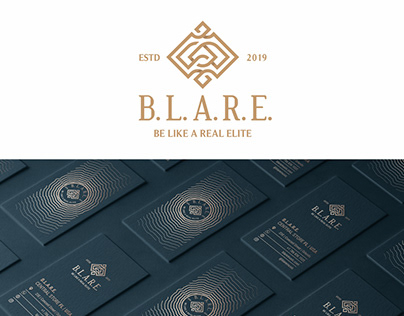 B.L.A.R.E. (Be Like A Real Elite) Branding