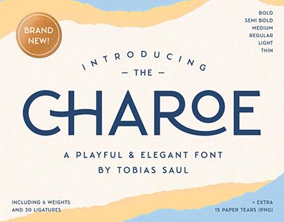 CHAROE - Typeface