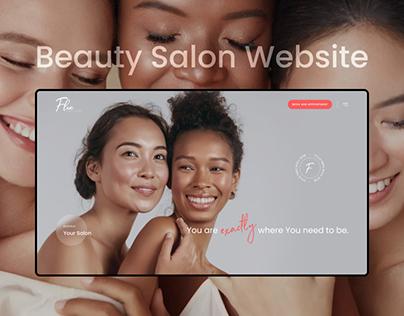 Flex | Beauty Salon Landing Page