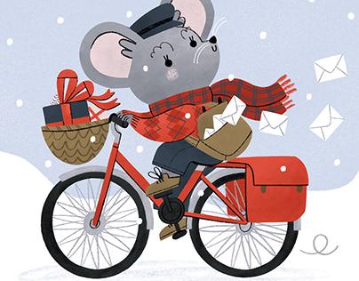 Winter Postman