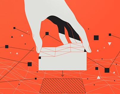 SpatialOS - Brand Illustrations
