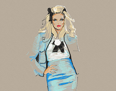 fashion sketches №8