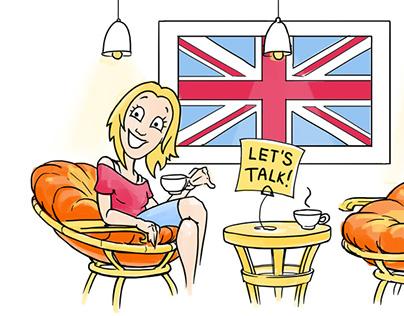 Eto Angliyskiy Detka! - English course ad