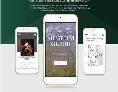 Museum Guide App Design