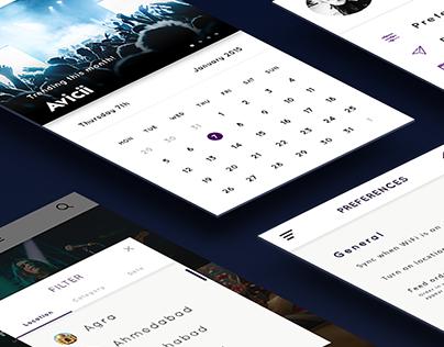 Phenomenon- Events app