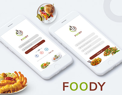 Food Apps Design