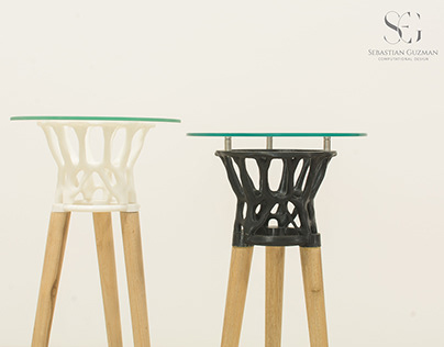 Topos Table - 3D printed Table