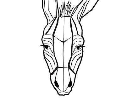 Stubborn as a donkey T-shirt