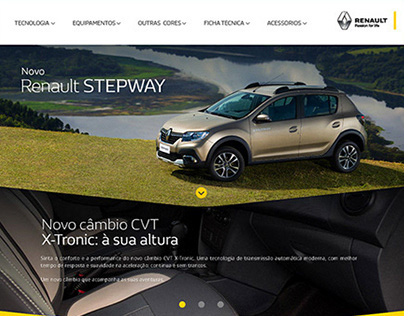 X52 Renault - WEBDESIGN