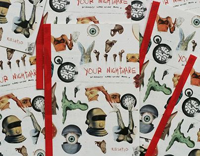 Your Nightmare: An Exquisite Corpse Collage Book